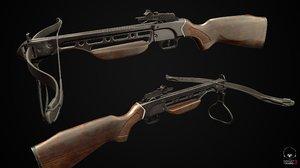 crossbow weapon 3D model