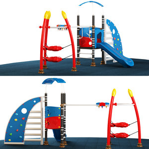 kids playground 3D model