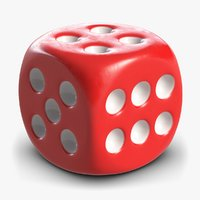 Dice 1 Red