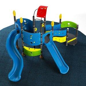 3D kids playground 07