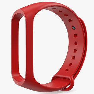 3D silicone strap fitness tracker