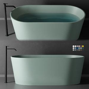 3D bathtubs designers model