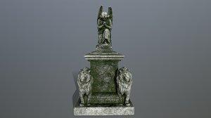 statue 4 model