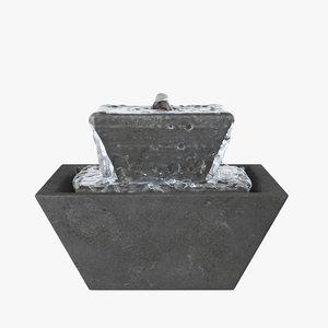 3D pei fountain