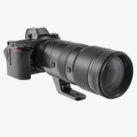 Mirrorless Digital Camera with 70 200mm Lens Generic