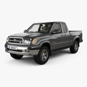 toyota tundra access 3D model