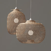 Laki Bamboo Pendant Light Shade