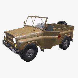 jeep pbr realtime model