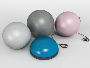 3d model kit pilates balls
