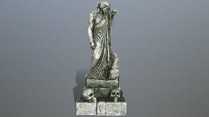 3D statue 5 model