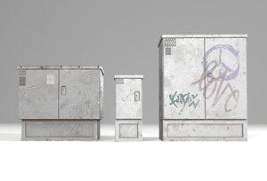utility boxes model