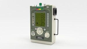 zoll emv portable ventilator 3D model