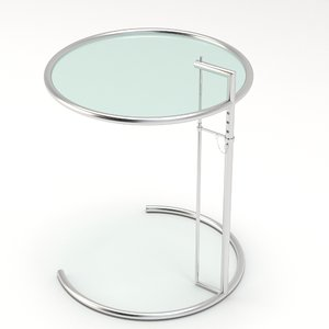 3D gray table
