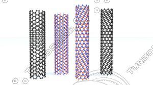 carbon nanotube bn model