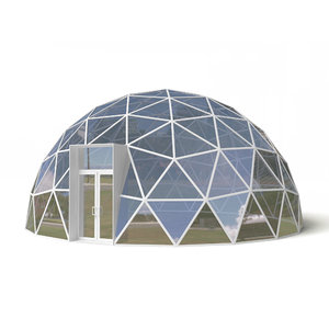 3D model dome geodesic