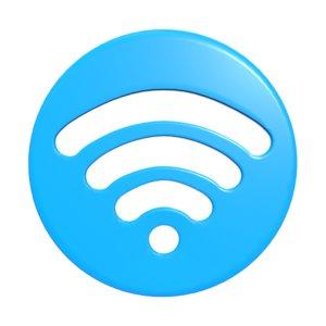 wifi icon 3D model