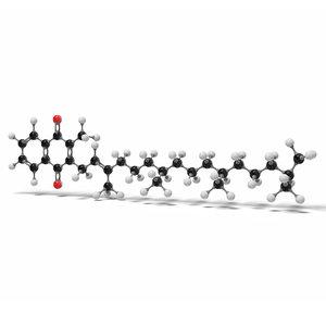 vitamin k1 phytomenadione molecule 3D model