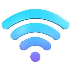 wifi symbol 3D model