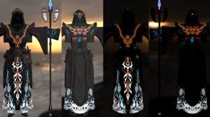 armor staff pbr model