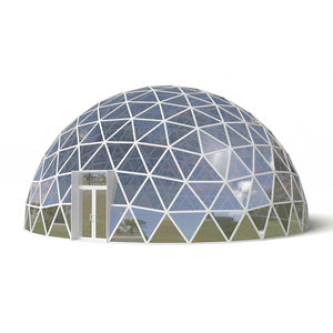 3D dome geodesic