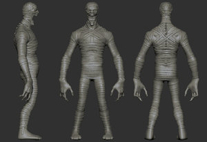 zbrush project archive 3D model