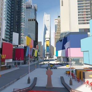 3D square color model
