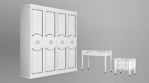 furniture bedroom 3D model