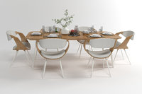 Dining furniture set 1504
