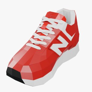 3D sneakers new balance 574 model