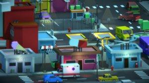 city prefabs unity 3D model