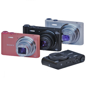 3D wx350 camera sony cybershot
