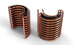 pipe coil 3D