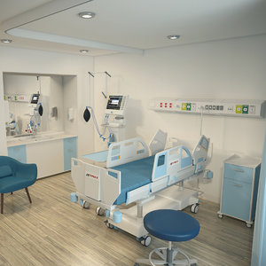 3D private ward