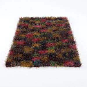rug carpet decor 3D model