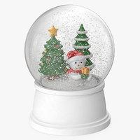 Snow Globe Christmas Decoration 2