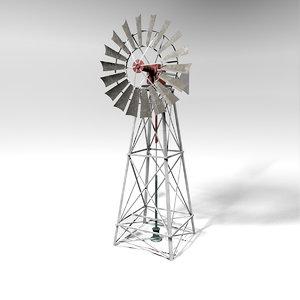 windmill wind 3D