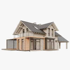 cottage house model