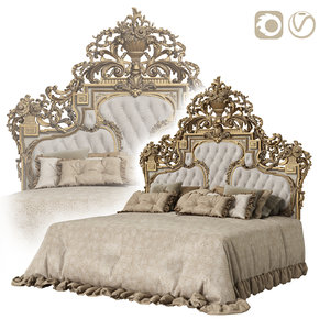 bed asnaghi 3D model