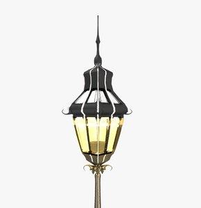 street light lamp 3D model