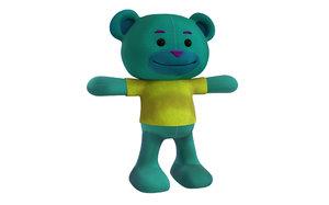 bear cartoon 3D