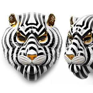 3D tiger mask lladro