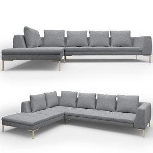 madison sofa 3d model