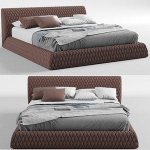 3D model estetica vision majorca bed