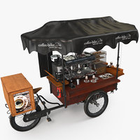 food coffee-bike 3D model