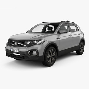 3D volkswagen t-cross t model
