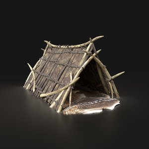 aaa orcish shelter 3D model