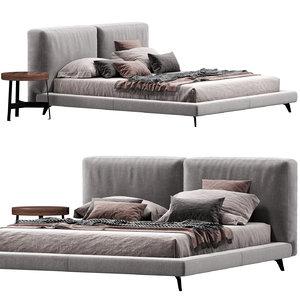 ditre italia bed 3D model