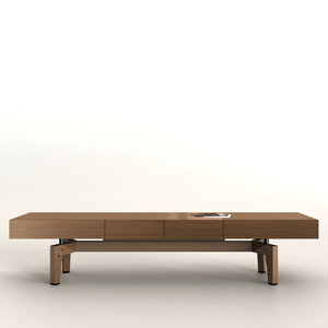 3D wooden cabinet time giorgetti