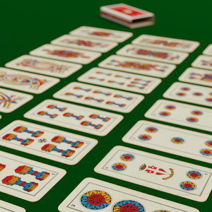 3D 40 italian card