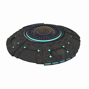 space spaceship ufo model
